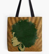 Afro Vintage Design Tote Bag