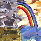A Rainbow as the Rain Goes Away by Jennifer Frederick