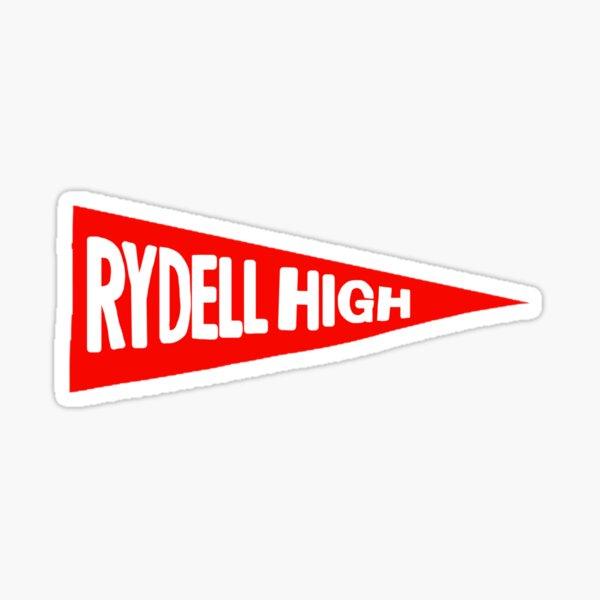 Rydell High Flag Sticker