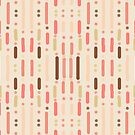 Blush Glow lines and dots by Christy Leigh
