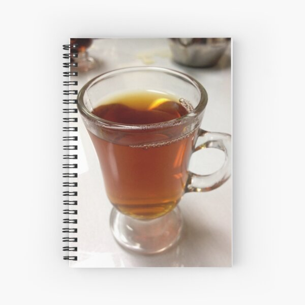 A nice cup of tea Spiral Notebook