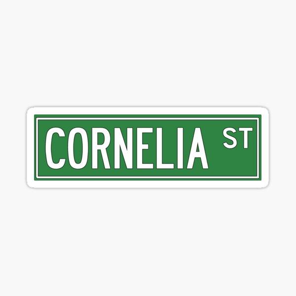 Calle Cornelia Pegatina