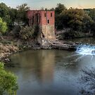 The Eliasville Mill by Terence Russell