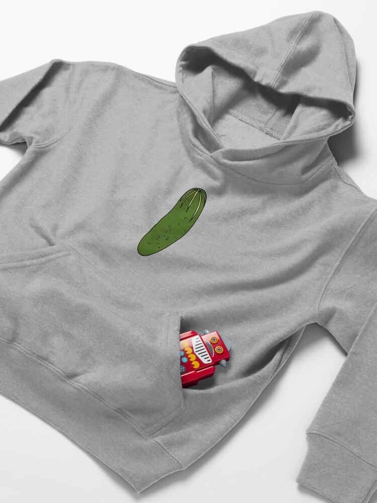 Alternate view of Green Pickles Kids Pullover Hoodie