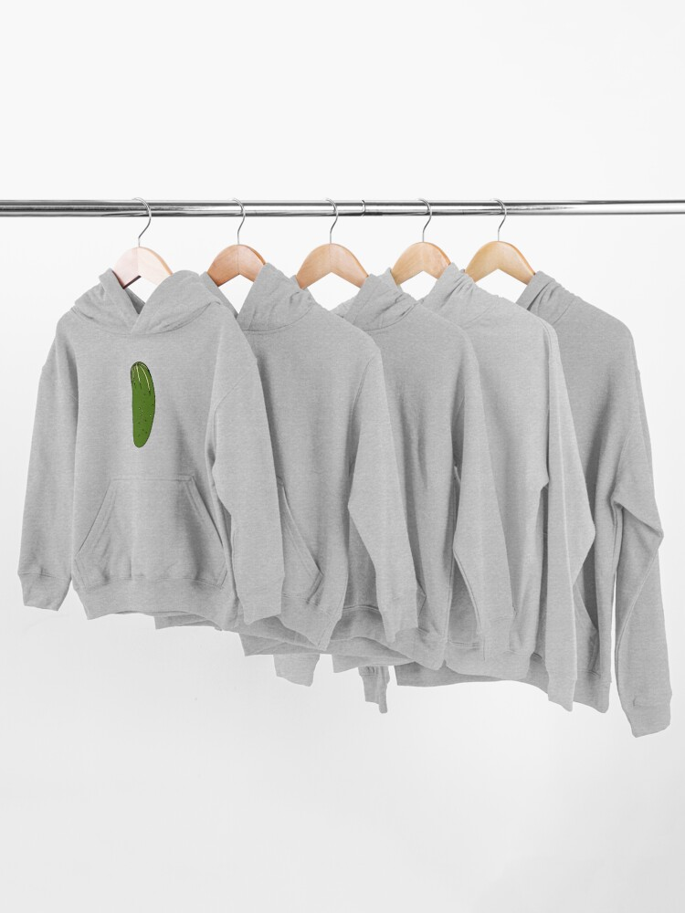 Alternate view of Green Pickles Kids Pullover Hoodie