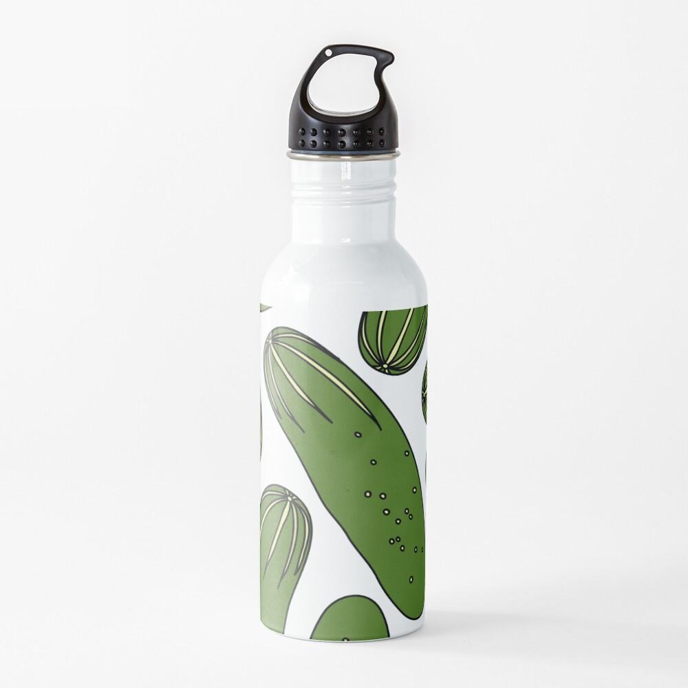 Green Pickles Water Bottle