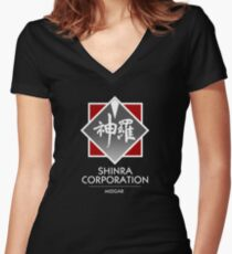 Shinra Corporation Women's Fitted V-Neck T-Shirt