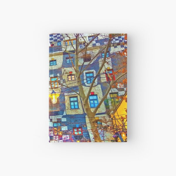 Hundertwasser Museum. Vienna. Austria Hardcover Journal
