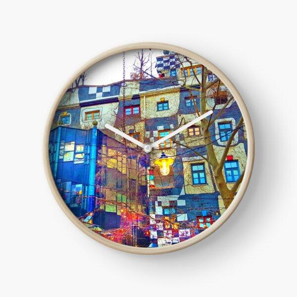 Hundertwasser Museum. Vienna. Austria Clock