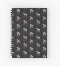 Chalky The Dala Horse Spiral Notebook