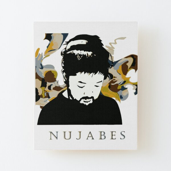 Nujabes Japnese DJ Music Producer Chill Vibes Wood Mounted Print