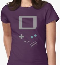 __gameboy vector Womens Fitted T-Shirt