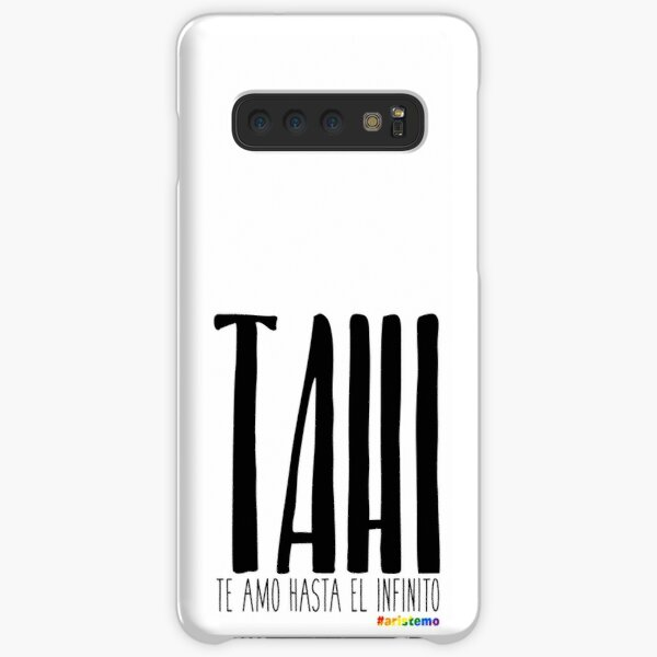TAHI – Te Amo Hasta el Infinito (White) Samsung Galaxy Snap Case