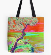 Cliff view. Tote Bag