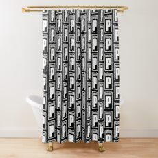 Portishead British Trip Hop Music Band Shower Curtain