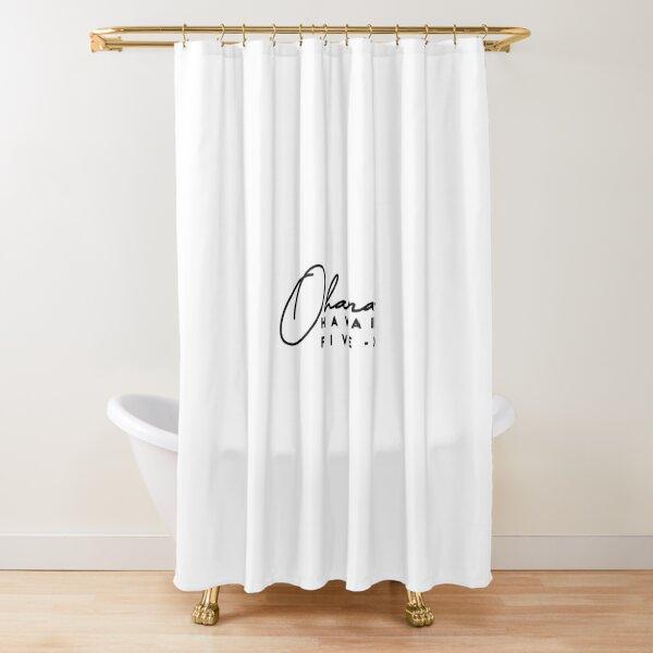 Ohana - Hawaii Five-0 Shower Curtain