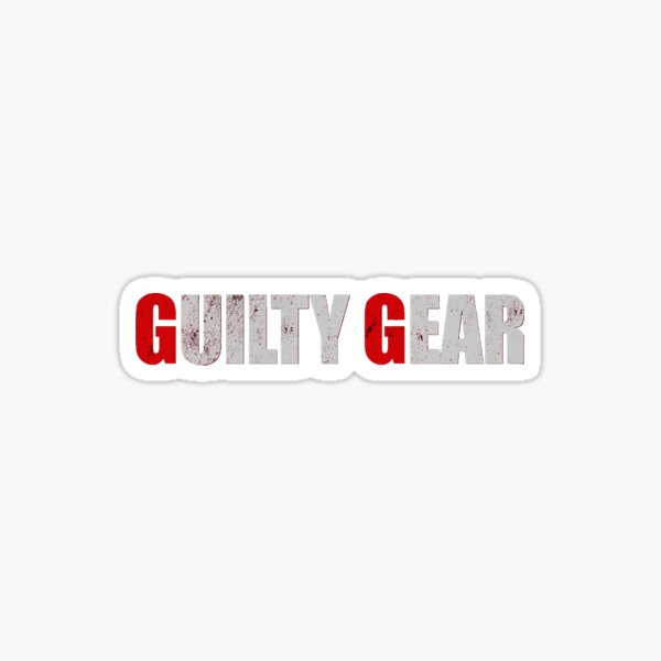 Guilty Gear Logo Sticker
