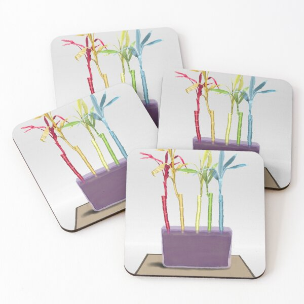 Rainboo - Donovan Cronkhite Coasters (Set of 4)