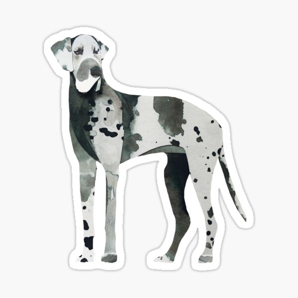 The Great Dane Sticker