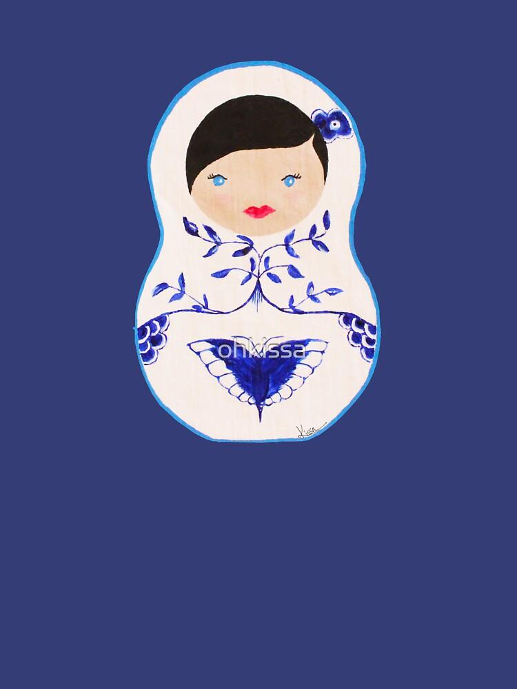 Blue  Babushka by ohkissa