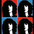 Patti Smith American Singer by StickaBomb