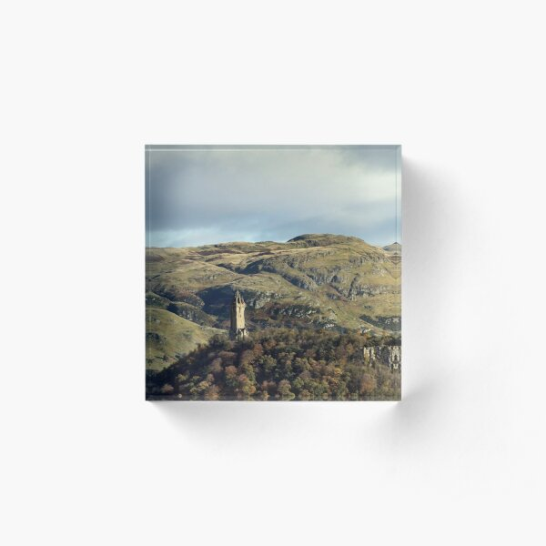 The National Wallace Monument - Stirling, Scotland Acrylic Block