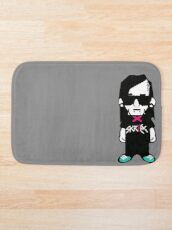Skrillex Cartoonn Bath Mat