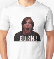 "Michael Kelso ""BURN!"" Unisex T-Shirt"