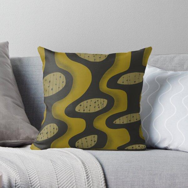 Mid Century Modern 2 Throw Pillow