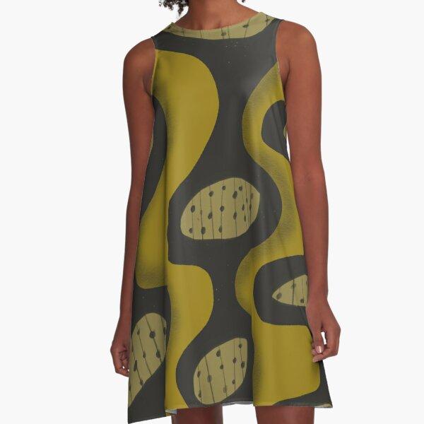 Mid Century Modern 2 A-Line Dress