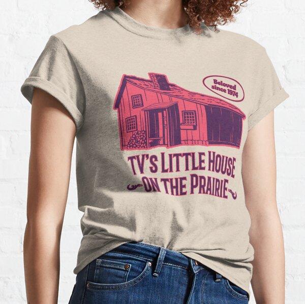 Petite Maison Prairie 70's Rouge T-shirt classique