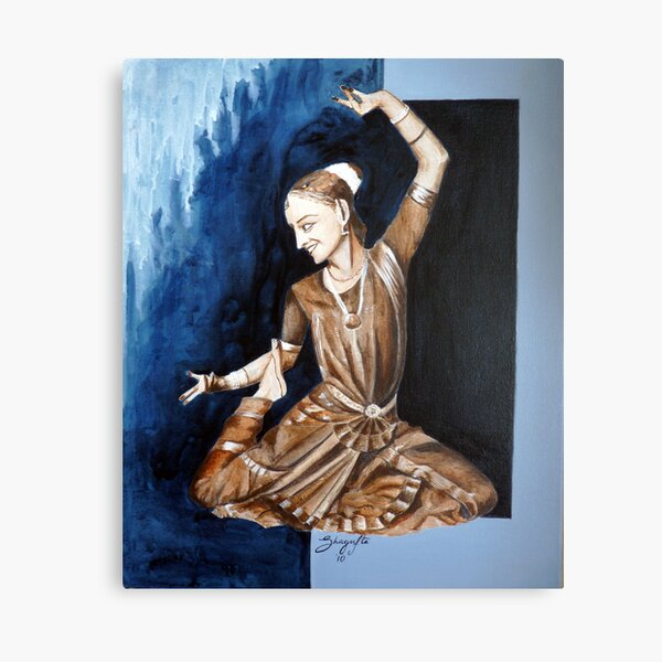 Indian Classical Dance Canvas Prints Redbubble