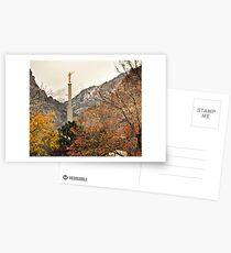 Provo Temple - Late Autumn Postcards