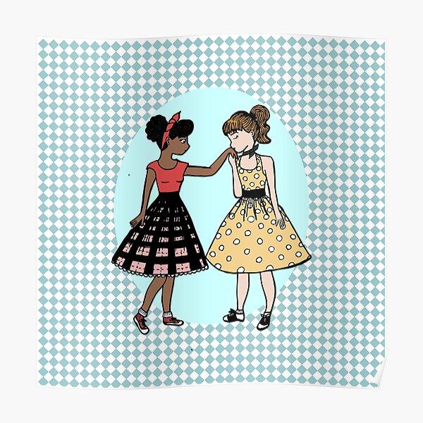 Girls Like Girls - 50's  Poster
