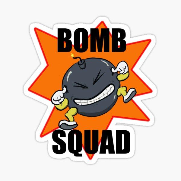 Bomb Squad Sticker