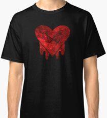 Gravity Falls Robbie Heart Galaxy Print Classic T-Shirt