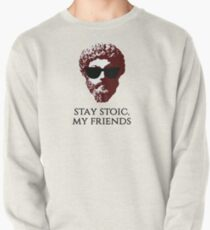 Marcus Aurelius Stay Stoic Pullover Sweatshirt