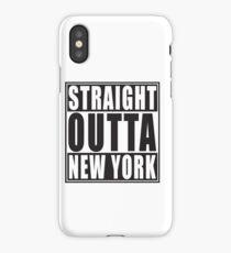 Straight Outta New York iPhone Case/Skin
