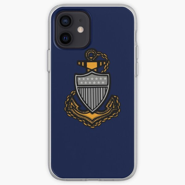 Coast Guard Chief Anchor iPhone Soft Case