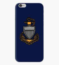 Coast Guard Chief Anchor iPhone Case