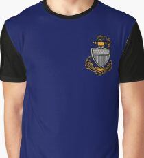 Coast Guard Chief Anchor Graphic T-Shirt