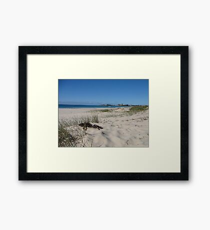 Coolangatta from North Kirra Beach Framed Print