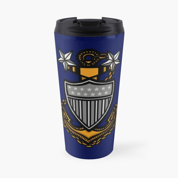 Coast Guard Master Chief Anchor Travel Mug