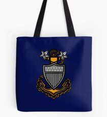 Coast Guard Master Chief Anchor Tote Bag