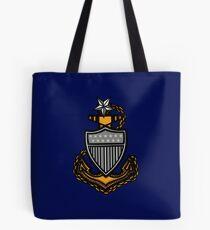 Coast Guard Senior Chief Anchor Tote Bag
