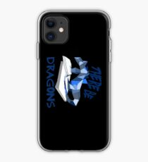 THERE BE DRAGONS iPhone Case