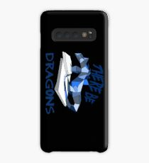 THERE BE DRAGONS Case/Skin for Samsung Galaxy