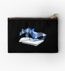 THERE BE DRAGONS Zipper Pouch