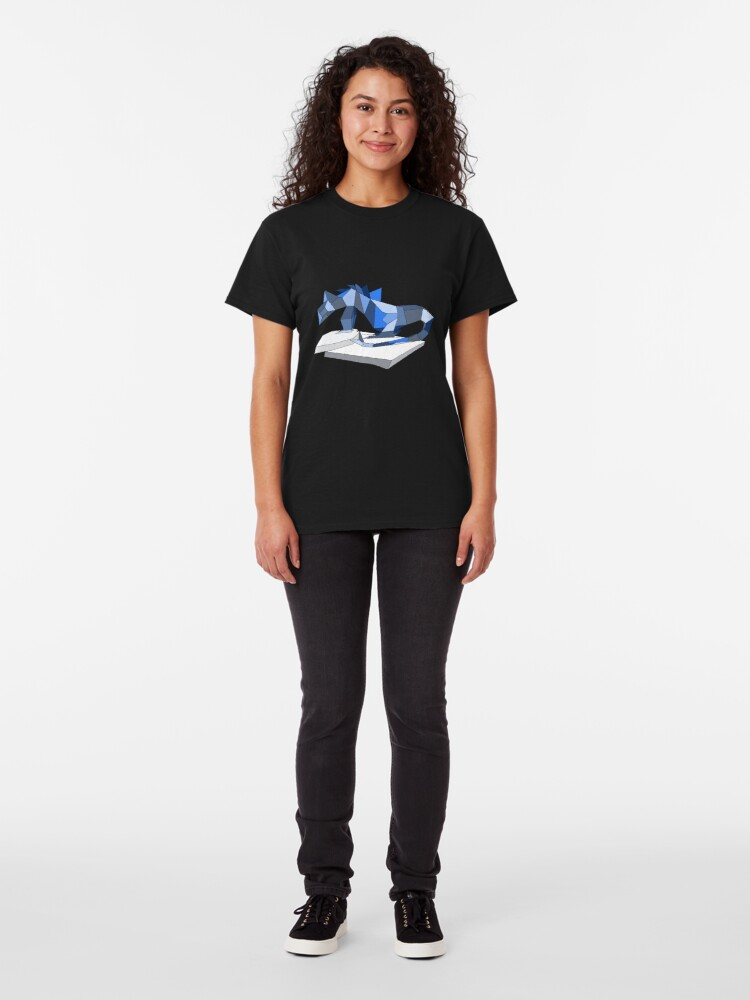 Alternate view of THERE BE DRAGONS Classic T-Shirt