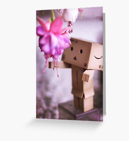Pretty Flowers for Me Greeting Card
